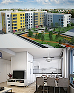 SOUTHERN FINLAND, HELSINKI (VANTAA), NEW CONSTRUCTION 2016 (ready to move 27.5.2016), 1 bedroom apartment, listing 8302